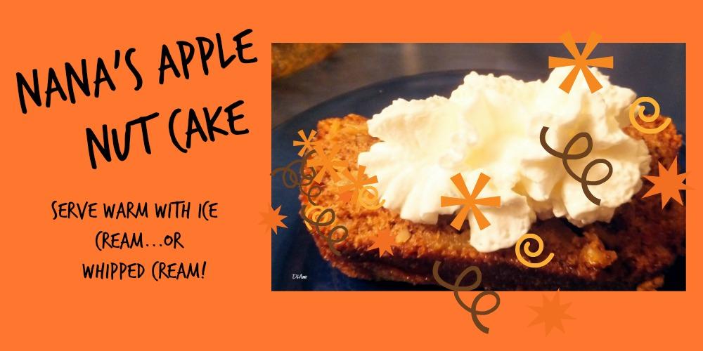 Nana's Apple Nut CakeUntitled